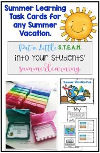 STEAM Summer Vacation Ideas
