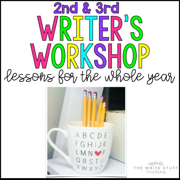Writer's Workshop for 2nd and 3rd grade