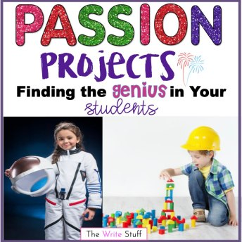 Passion Projects for the elementary classroom