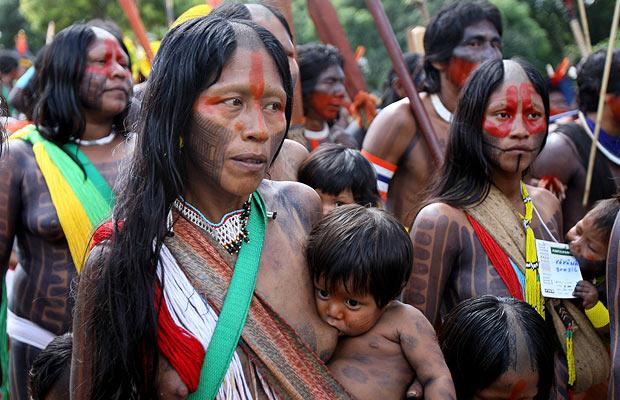 tribes WWF Mines The Green Gold Rush To The Amazon: Making $60  billion From Fear