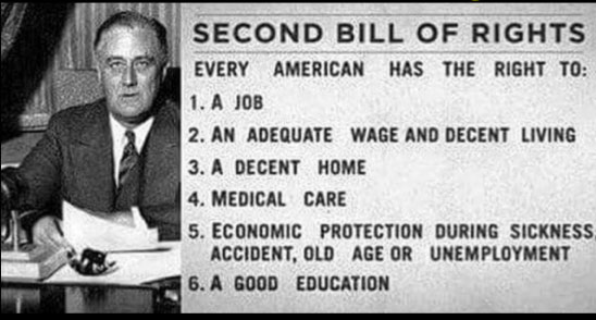 Roosevelt's Second Bill of Rights