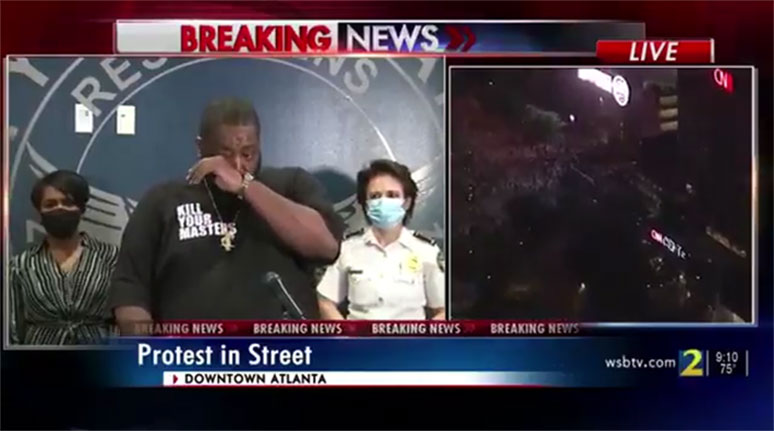 Killer Mike delivers speech on Atlanta riots after the death of George Floyd