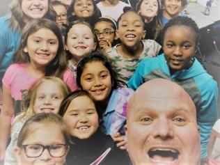 dr vinson selfie with kids