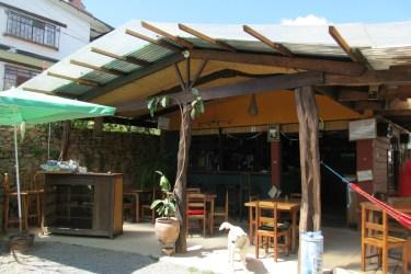 Carla's Garden Pub in Coroico
