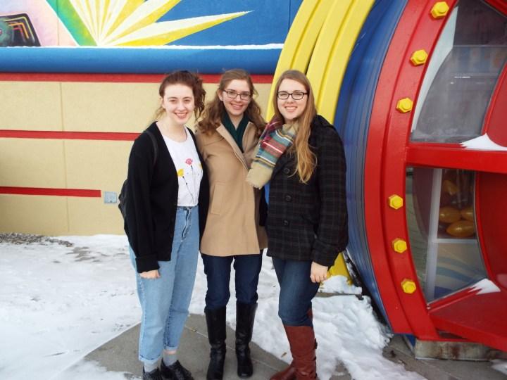 Rachel, Rebecca and me