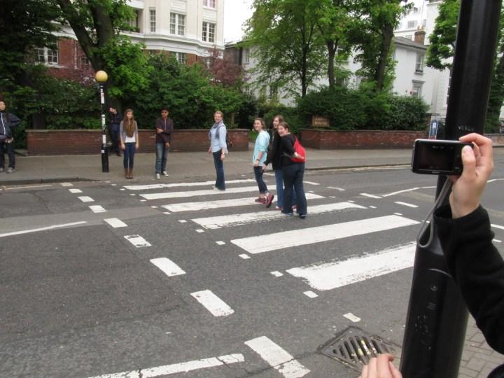 budget travel london abbey road