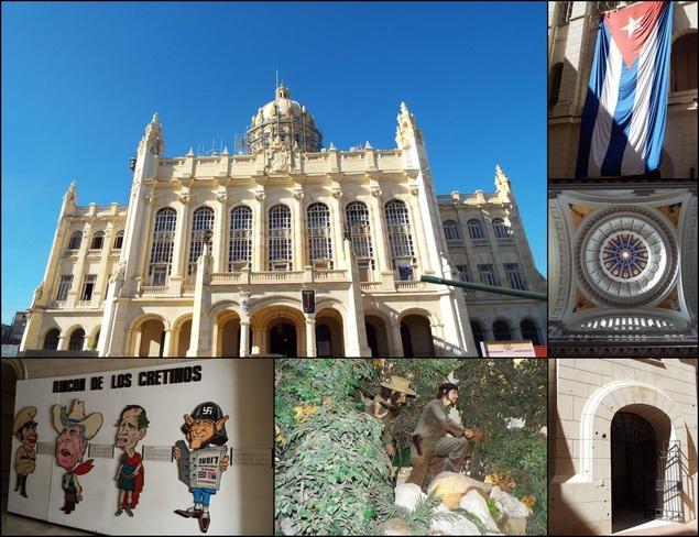 Museo de la Revolucion in Havana, Cuba