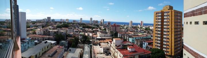 View of the Vedado neighborhood in Havana, Cuba