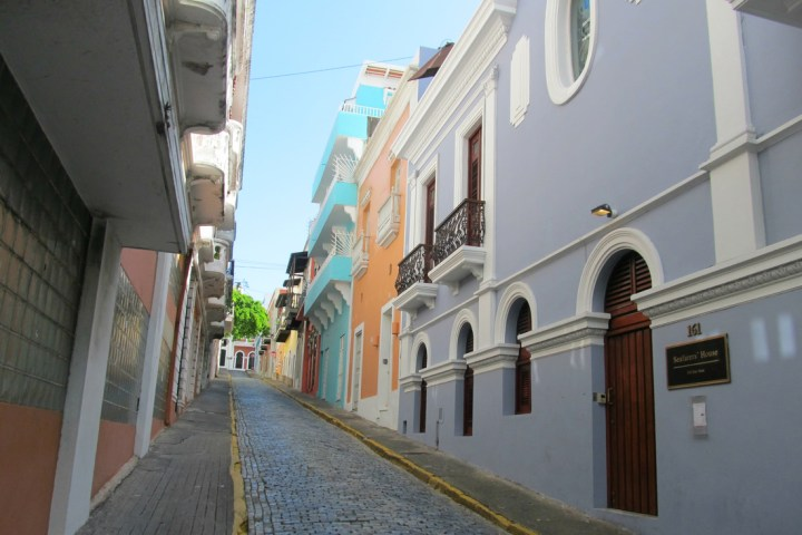 colonial architecture in Old San Juan