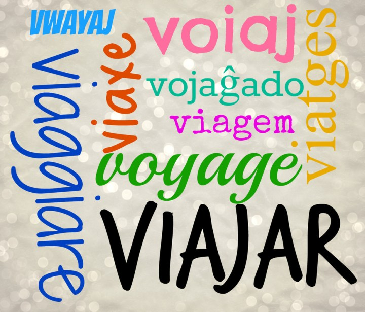 "The word ""travel"" in various romance languages"