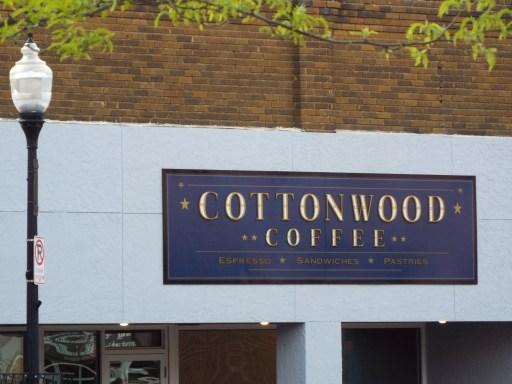 Cottonwood Coffee shop in Brookings South Dakota