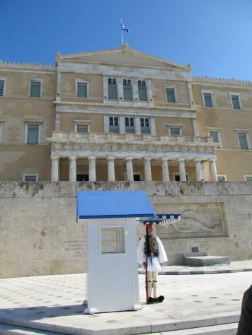 Parliament building Athens