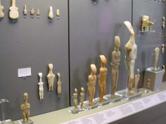 Cycladic sculptures