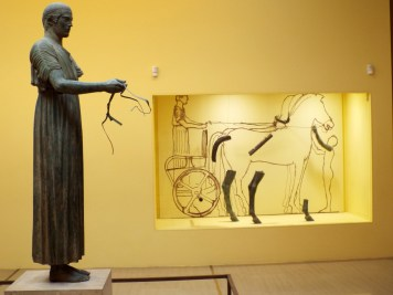 Bronze charioteer Delphi