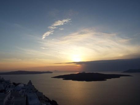 Sunset, Fira, Santorini