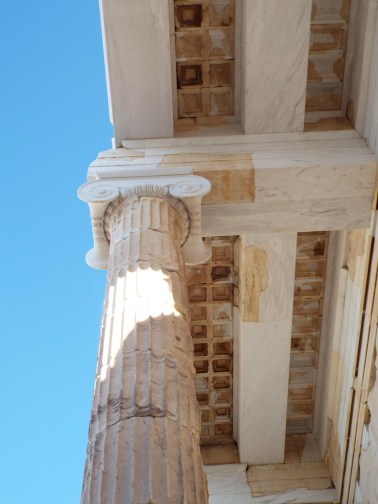 Ionic column on the Propylaea