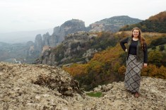 Appropriate clothing for visiting Meteora