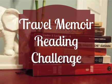 Travel Memoirs Reading Challenge