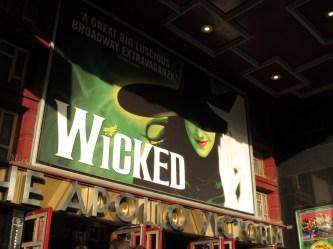 Wicked at the Apollo Victoria