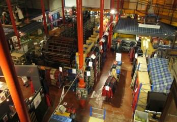 Tartan weaving mill, Edinburgh