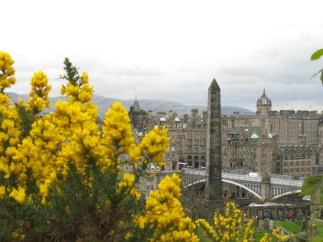 Waverly Bridge from Calton Hill