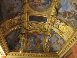 Ceiling in the Louvre