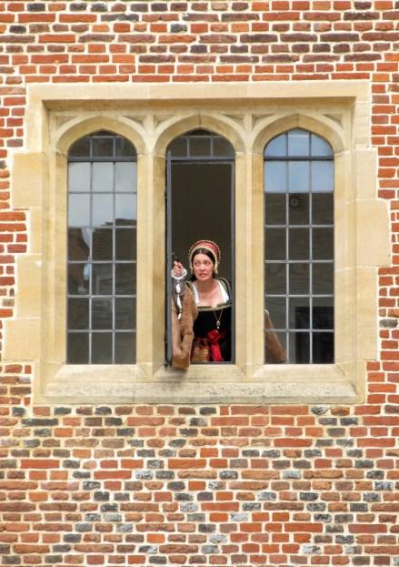 hampton court palace reenactments