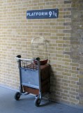Platform 9 3/4, Kings Cross Station, London
