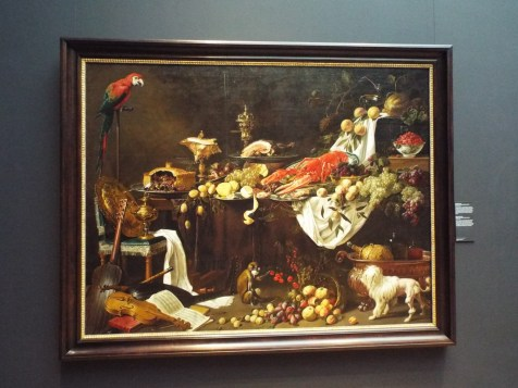 """""""Banquet Still Life"""" by Adriaen van Utrecht"""