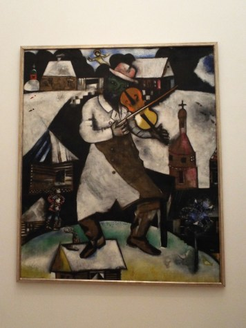 """""""The Fiddler"""" by Marc Chagall"""