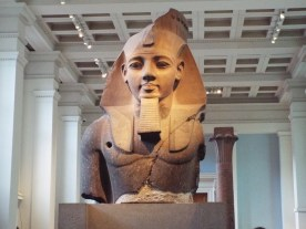 Colossal head of Ramses