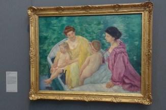 """""""Le Bain"""" by Mary Cassatt"""