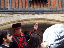 Our Yeoman Warder guide