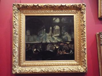 """The ballet scene from Meyerbeer's Opera 'Robert le Diable'"" by Edgar Degas"