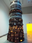 """Tower of Babel"" by Cildo Mereiles"