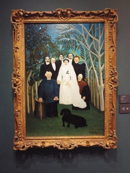"""The Wedding Party"" by Henri Rousseau"