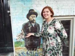 Van Gogh street art - Amsterdam