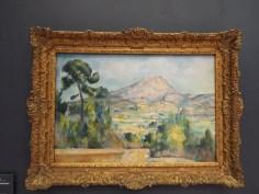 Paul Cezanne painting at Musee de l'Orangerie