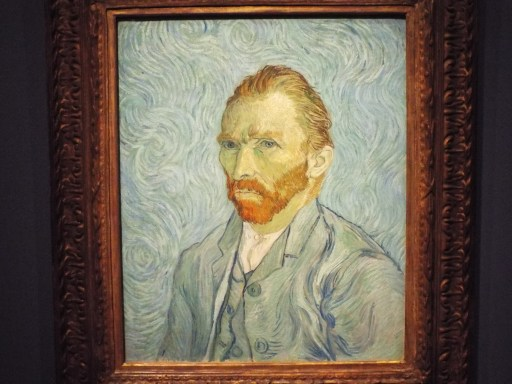 Van Gogh Self Portrait at Musee d'Orsay