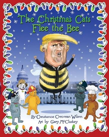 Cover for The Christmas Cats Flee the Bee