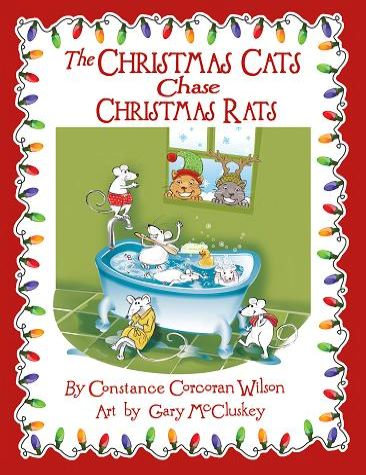 The Christmas Cats Chase Christmas Rats Cover