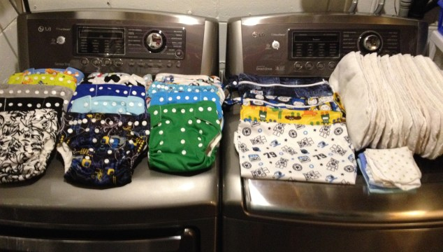 Learning the art of environmentally friendly diapering