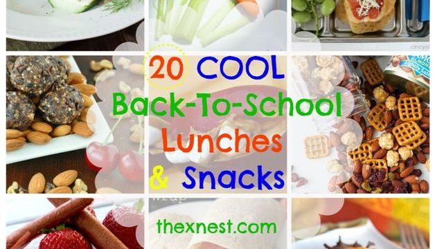 20 Cool Back-To-School Lunches & Snacks