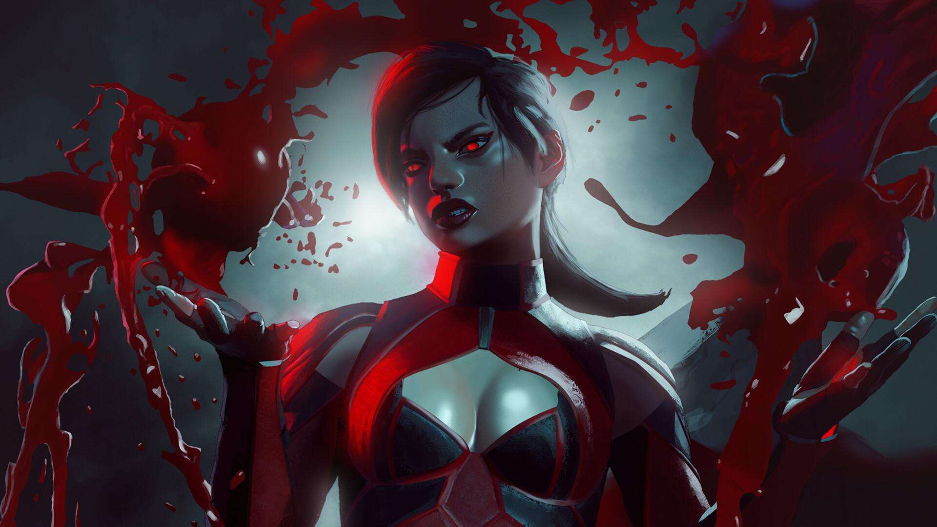 Sexy Skarlet Mortal Kombat