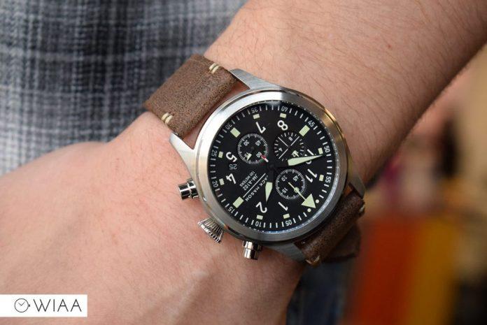 Jack mason aviator chronograph