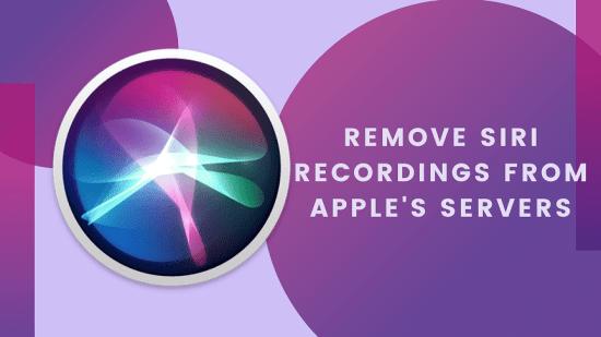 Siri Recordings