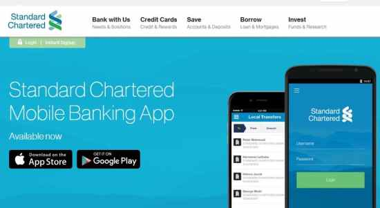 Standard Chartered Mobile Banking App