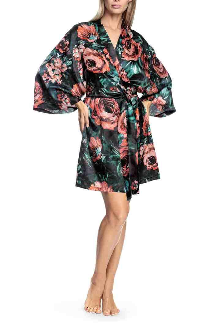 Kimono style bathrobes