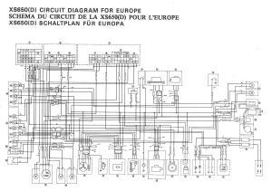XS650: 77 XSD Wiring Diagram   thexscafe