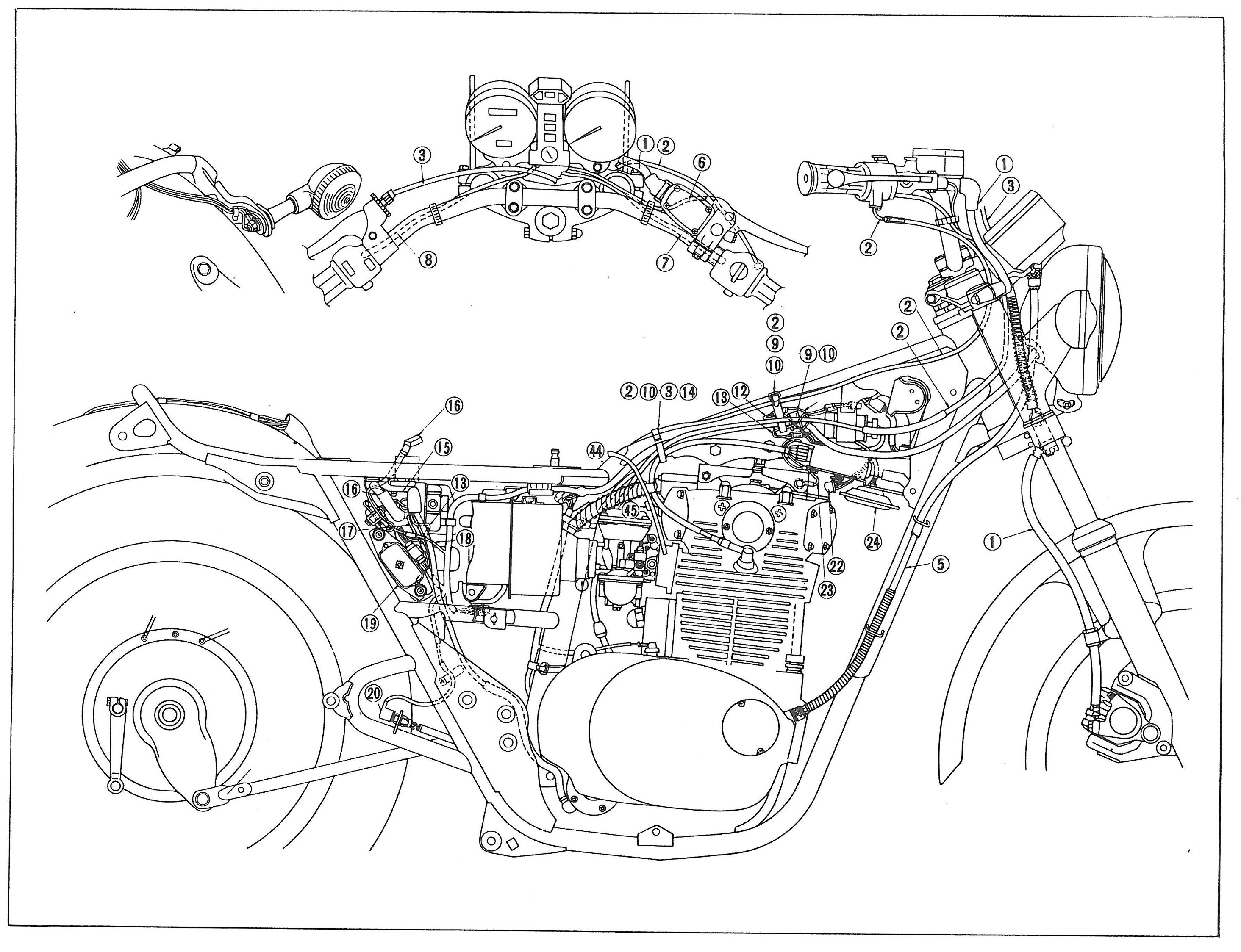 Xs650 Wiring Schematic Engine